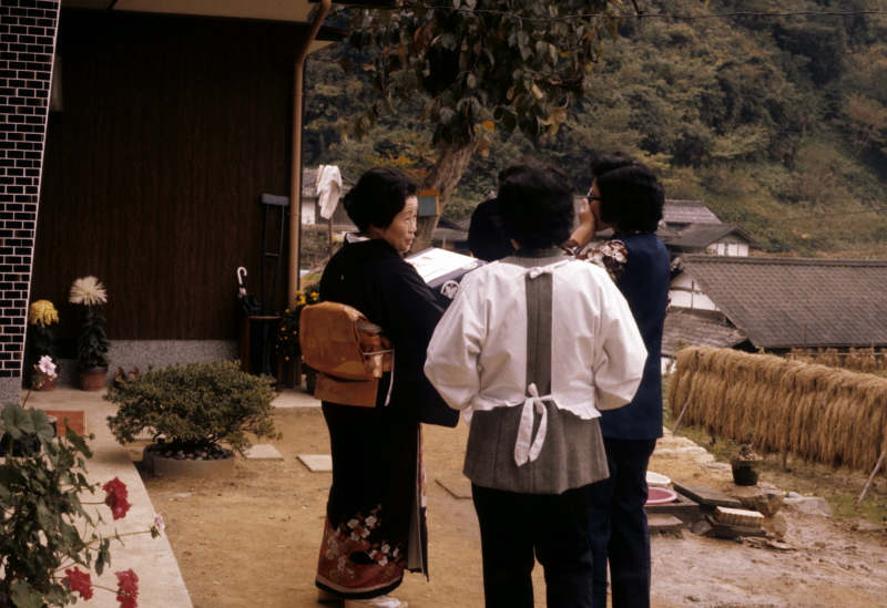 American wedding from the early 1970s or contemporary Japanese weddings